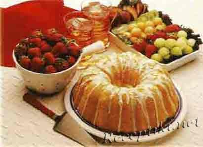 Правила еды десертных блюд