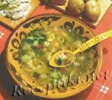 Суп с грибами и клецками по-псковопечорски