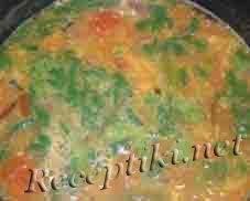 Суп кубанский с овощами и рисом