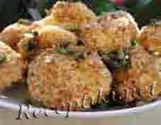 Яйца с начинкой из грецких орехов