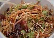 Салат из печенки с морковью по-корейски