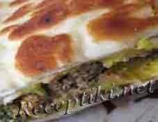 Пряные тосты с мясным фаршем