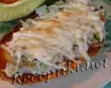 Горячие бутерброды с ветчиной и огурцом