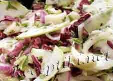 Салат из сырой репы с яблоками