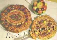 Летний открытый пирог