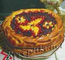 Пирог открытый «Ягодник»