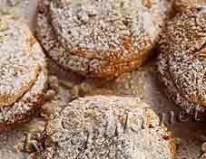 Пирожные песочные с орехами
