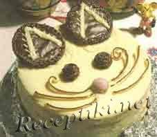 Торт «Кот-котофеич»