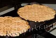Приготовление вафель