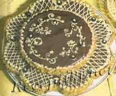 Торт вафельно-шоколадный