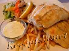 Рыба «Пай» с картошкой фри