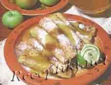 Блинчики с яблочным припеком