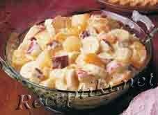 Салат-десерт из фруктов