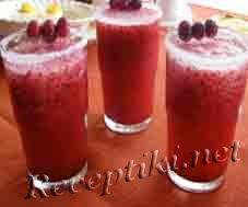 Напиток клюквенно-морковный «Искра»