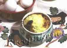 Яйцо в горшке по-суздальски