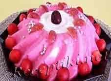 Торт желейный