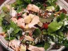 Салат из курицы «Золотой гребешок»