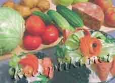 Салат из ветчины «Ярославна»