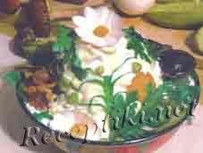 Салат из свежих грибов «Русь»