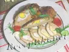Свинина фаршированная яйцами по-рязански