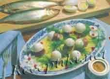 Филе сельди с яйцом по-псковски