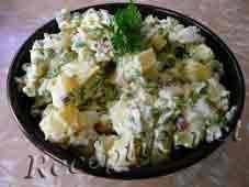 Салат из рыбы «Флотский»
