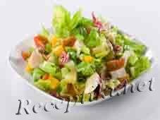 Рыбный салат «Старорусский»