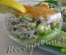 Салат-коктейль из рыбы «Садко»