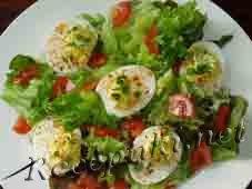 Тайский яичный салат