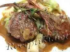 Печеное мясо «Гармошка»