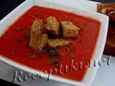 Крем-суп томатный с перцем