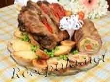 Свинной рулет «Закусочный»