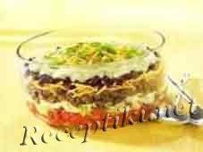 Салат из говядины «Кармен»