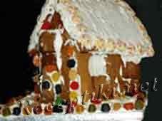 Десерт из печенья «Сказочный домик»