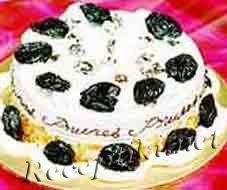 Tорт с черносливом «Каменный цветок»