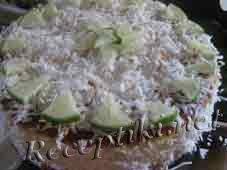 Яичный торт «Лилия»