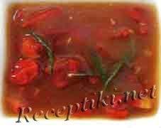 Соус из сушеных помидоров