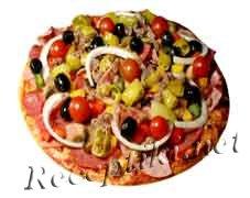 Овощная пицца «Ассорти»