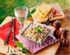 Закуска из ветчины и белокочанной капусты