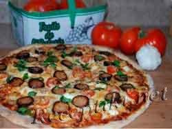 """Пицца с домашней колбасой """"Супреме"""""""