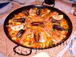 """Паэлья из морепродуктов """"Незабываемая Испания"""" с рисом"""