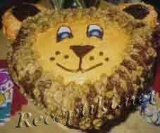 Праздничный торт «Львенок» сборный