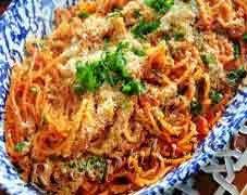 Спагетти по-сицилийски