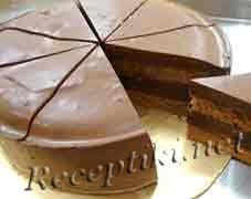"""Торт """"Часики"""" с какао"""