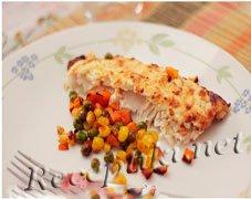 Рыба под сырной шубой
