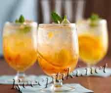 Лимонно-сметанный коктейль
