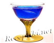 """Новогодний коктейль """"Синее шампанское"""""""