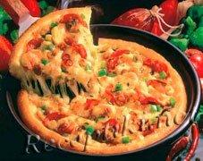 Пицца итальянская с индейкой