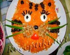 """Рисовый салат """"Тигр"""""""