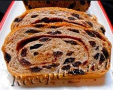 Хлебец с изюмом
